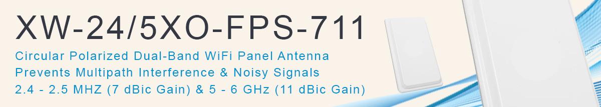 Medical IoT Antenna IoMT WiFi XW-24-5XO-FPS-711